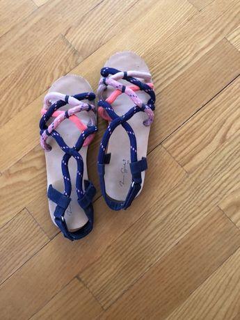 Сандалі, босоніжки ZARA для дівчинки, 35 розмір