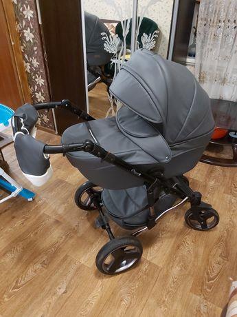 Детская коляска для новорожденных 2 в 1 универсальная