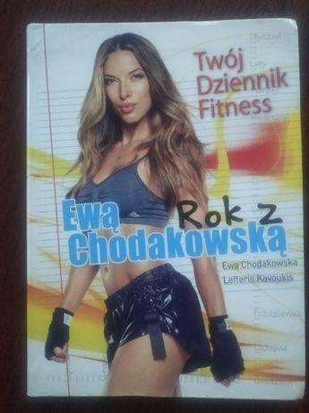 Rok z Ewą Chodakowską. Twój dziennik fitness Chodakowska Kavoukis