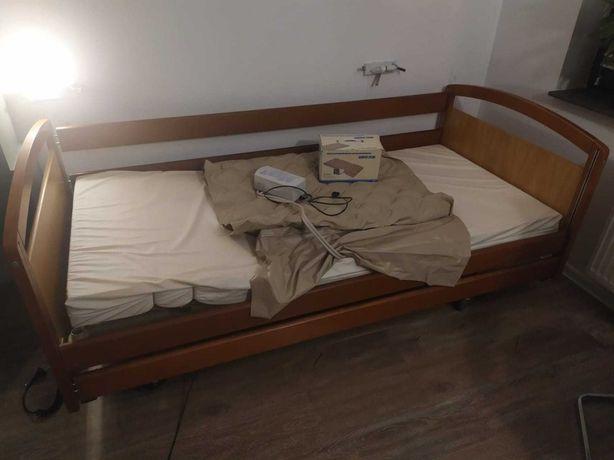 Łóżko rehabilitacyjne elektryczne z pilotem