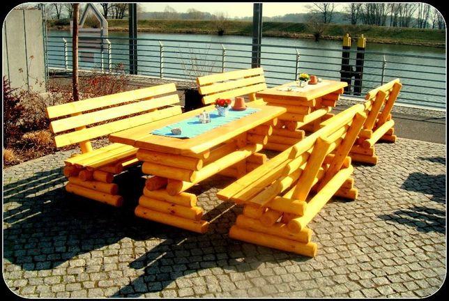 Meble ogrodowe drewniane huśtawka wysyłka cały kraj wysyłka za granice