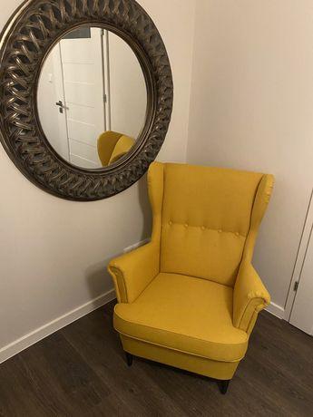 Nowy fotel uszak Ikea Strandmon - nieużywany!