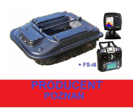 ŁÓDKA ZANĘTOWA P2 70cm z Echosondą +FS-i6 / Producent Poznań