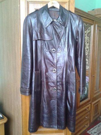 Пальто кожаное, шкіряне пальто