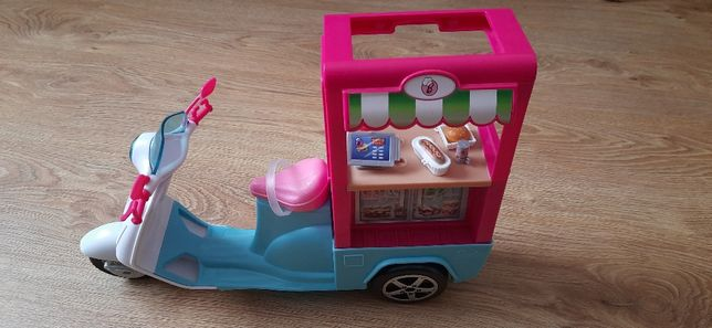 Skuter mobilny bufecik dla Barbie