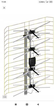 antena siatkowa plus zasilacz