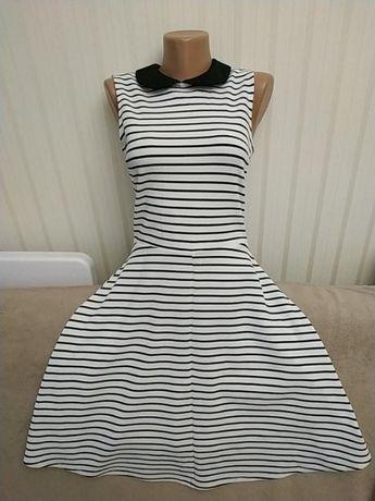 Платье морячка без рукавов, р 8-10 Dorothy Perkins