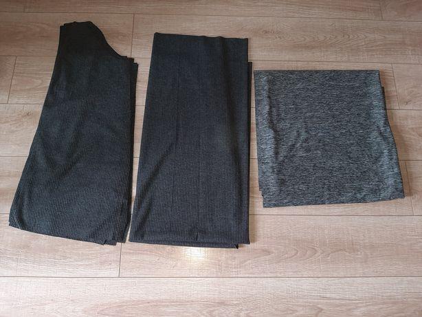 Відріз тканини, відріз тканини поліестр та коттон на плаття в рубчик