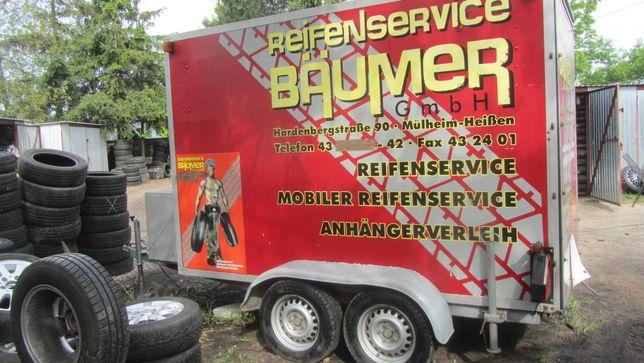 Przyczepa plus serwis mobilny NOWA CENA