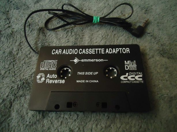 Cassette audio adaptor Emmerson