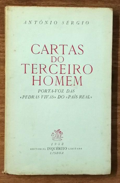 cartas do terceiro homem, antónio sérgio, 1953, 1 volume Estrela - imagem 1