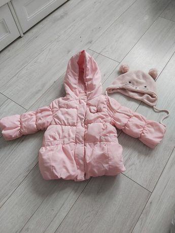 Продам демисезонную куртку Zara шапочка в подарок