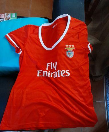 Camisola oficial do Benfica feminina