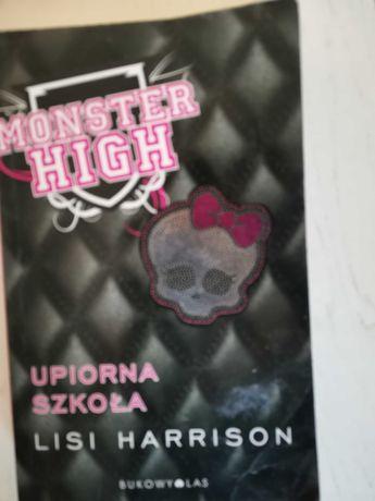 Książka monster high upiorna szkoła