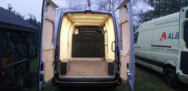 Zabudowa busa Renault Master/Opel Movano L3H2 podłoga,boki,nadkola