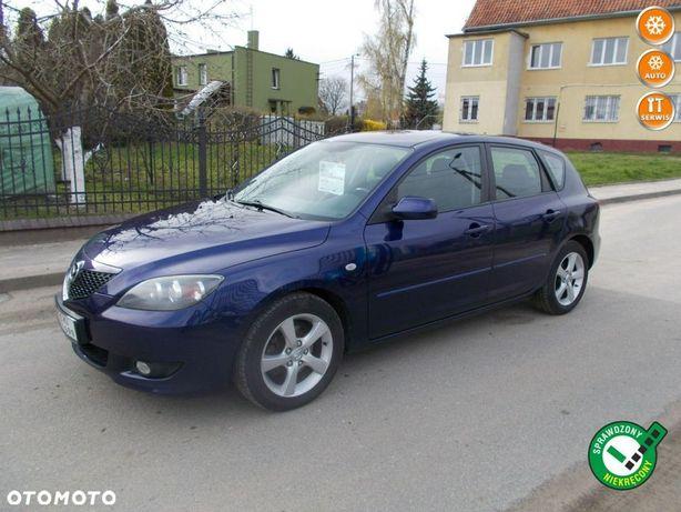 Mazda 3 Opłacona Zdrowa Zadbana Serwisowana Klimą i Alusami