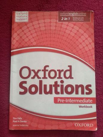 Oxford Solutions Pre-Intermediate Workbook