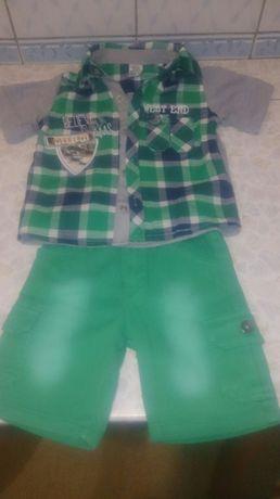 Летний костюм для мальчика, возраст 2-3 годика. Турция.
