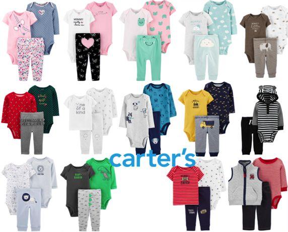 Комплект Carters, Картерс, штанишки, боди, костюм
