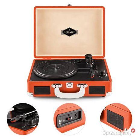 Gramofon walizkowy w stylu retro AUNA Peggy Sue