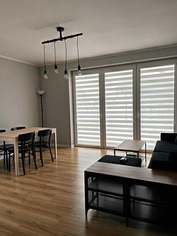 Nowy dom do wynajęcia, cztery pokoje i garaż, Bełchatów, Ławy