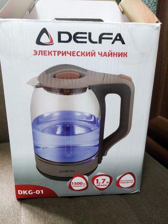 Чайник Delfa DKG-01 на запчасти