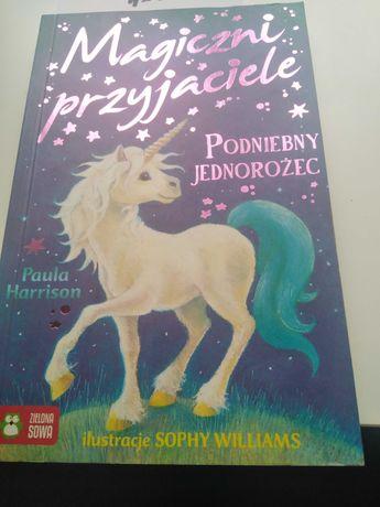 """Książka,, Magiczny przyjaciele podniebny jednorożec"""""""