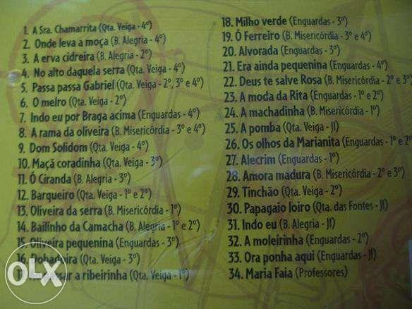 CD Duplo Cancioneiro Popular - coro infantil + vídeos