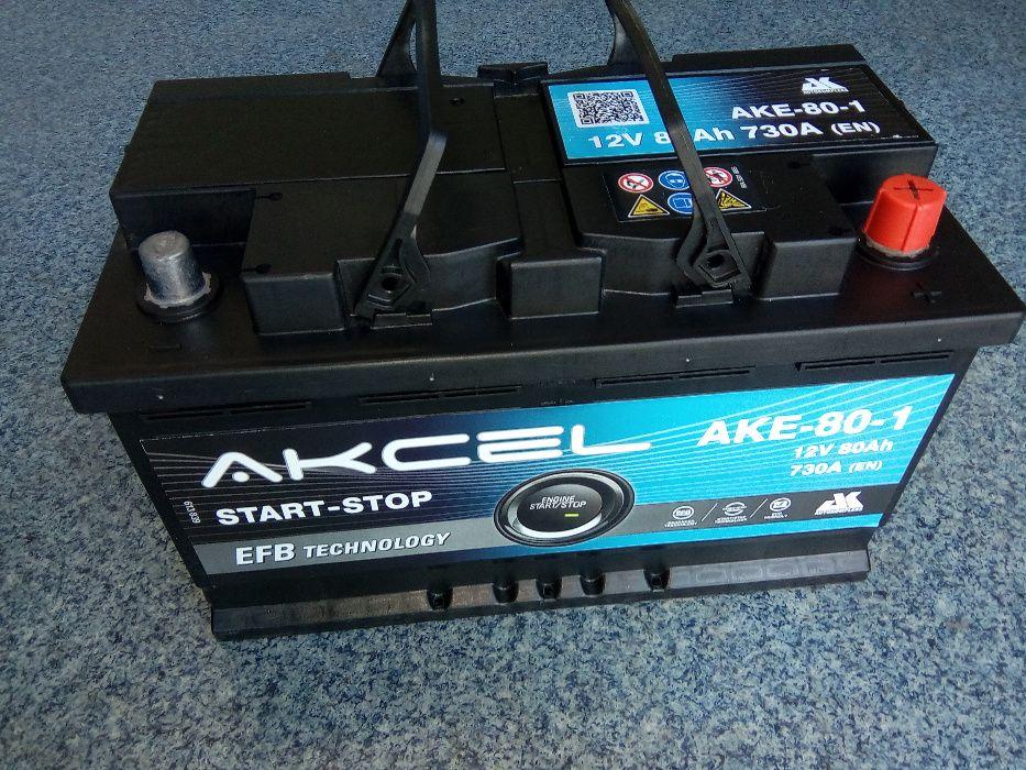 Akumulator Akcel VARTA 80Ah EFB Start Stop Brzeziny Brzeziny - image 1