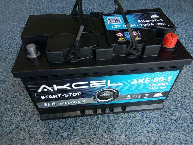 Akumulator Akcel VARTA 80Ah EFB Start Stop Brzeziny