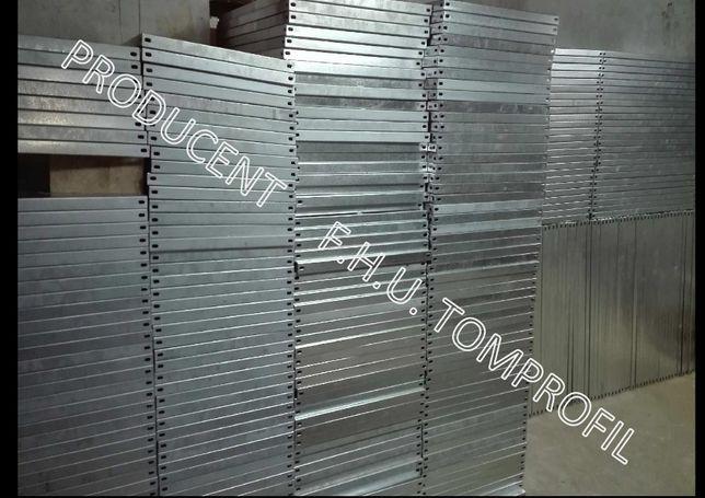 Półka regałowa metalowa wzmocniona 1000x500 ocynk - 45 zł / szt. netto