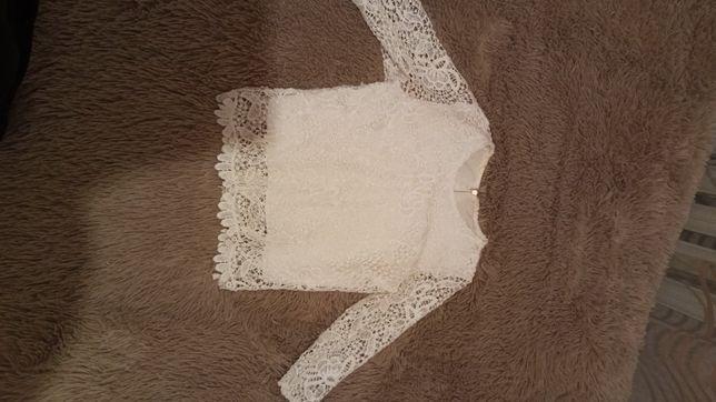 Блузка, топ з рукавами, для подростка 10-12років девочка