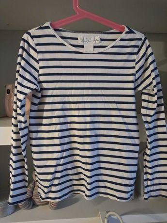 Klasyczna bluzeczka dziewczęca L.O.G.G. H&M r 122 - 128