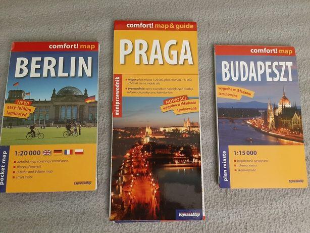Plany Berlina Pragi i Budapesztu