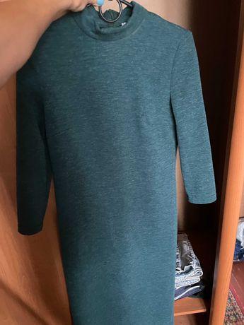 Зеленое платье-гольф VOVK Размер S