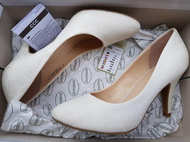Buty ślubne (brokatowe)