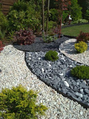 Grys Marianna biały, niebieski, czarny, szary, kamień DOSTAWA+głaz