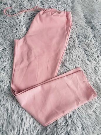 Spodnie pudrowy róż r. L