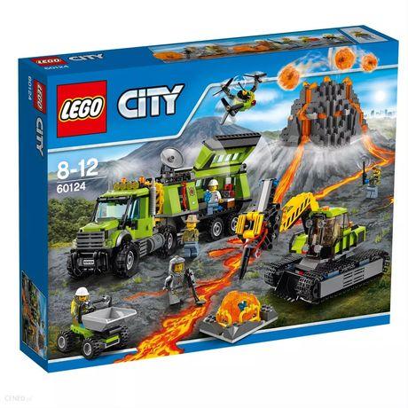Lego city 60124 Baza badaczy wulkanów