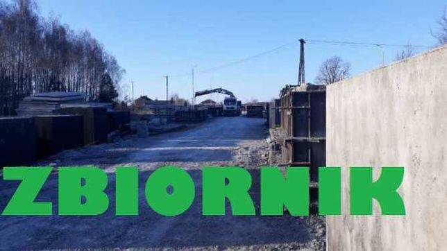Szambo betonowe 6000l ścieki Betonowy Zbiornik na gnojowice odchody