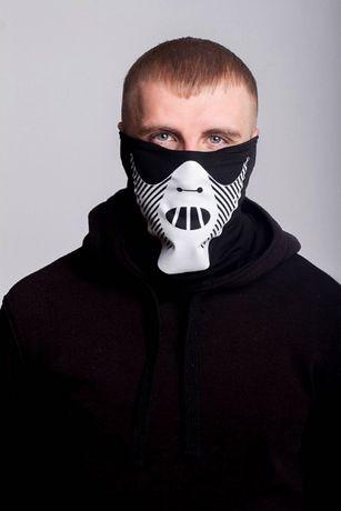 Защитная маска шапка Бафф FDR Hannibal Black