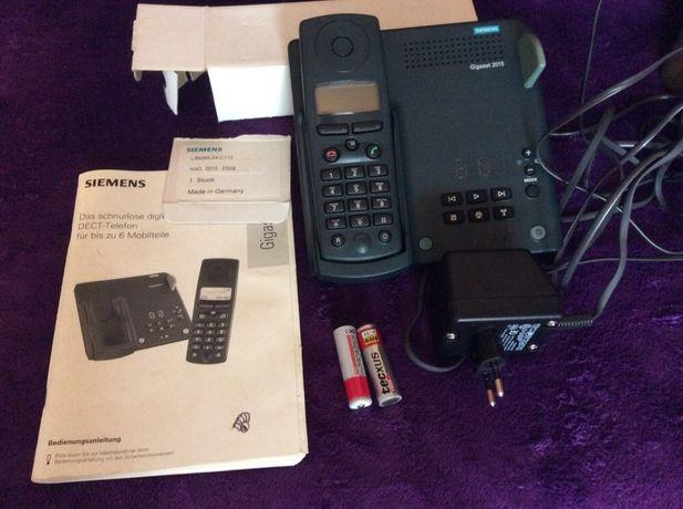 Telefony bezprzewodowe stacjonarne z sekretarką elektroniczną