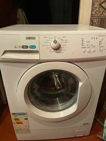 Стиральная машина Zanussi на 6 кг на запчасти или восстановление