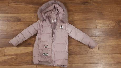 Zimowa kurtka dziewczęca r 152