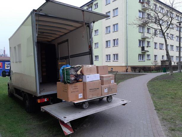 Transport, przeprowadzki,kartony do pakowania, utylizacje na ZGK