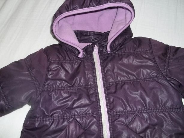 H&M fioletowa kurtka dziewczynka rozm.80/12 miesięcy