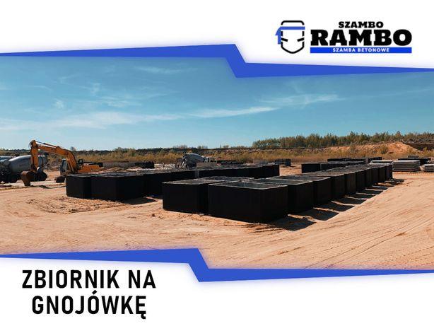Zbiornik Betonowy 6m3 Na Gnojówkę Wodę Deszczówkę Szambo Betonowe