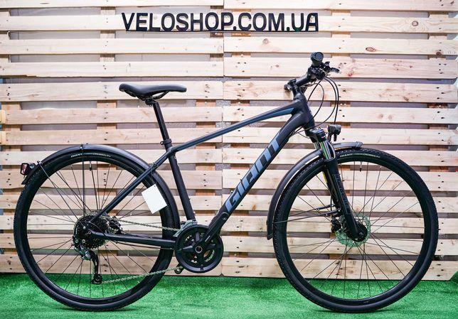 Гибридный велосипед Giant Roam EX Disc (2020) M