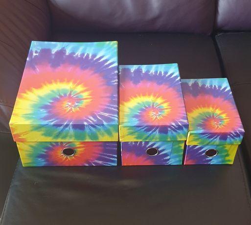 Caixas cartão organização arquivo arco íris arquivo gay