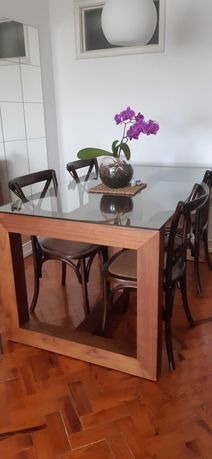 Mesa Jantar com 4 cadeiras